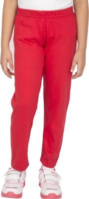 Ocean Race Girl's Red Leggings