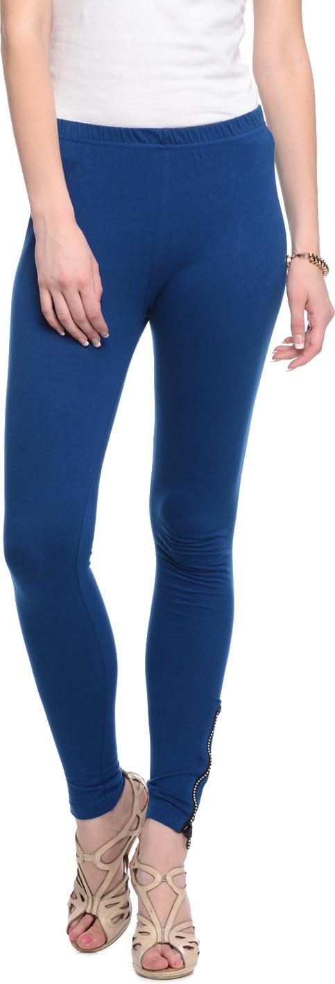 Gritstones Womens Blue Leggings