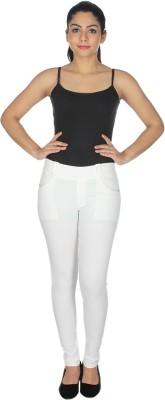 MDS Jeans Women's Purple Jeggings