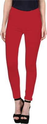 Triveni Women's Red Leggings