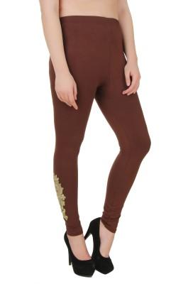You Forever Women's Brown Leggings
