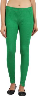 Notyetbyus Women's Dark Green Leggings