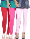 Be-Style Women's Maroon, Pink, Pink Legg...