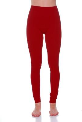 Tejshree Women's Maroon Leggings