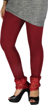 Brood Women's Maroon Leggings
