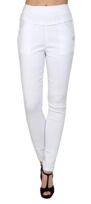Silvercross Women's White Jeggings