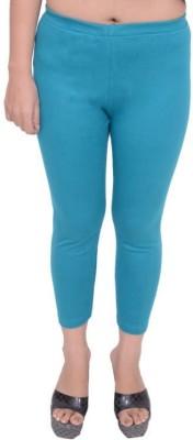 Snoby Women's Blue Leggings