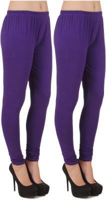 Stylishbae Women's Purple, Purple Leggings