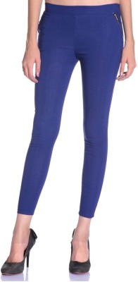 SNP Creations Women's Blue Jeggings