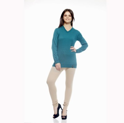 Agrima Fashion Women's White Leggings