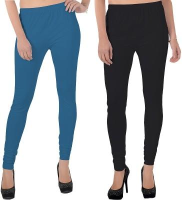 X-Cross Women's Blue, Black Leggings