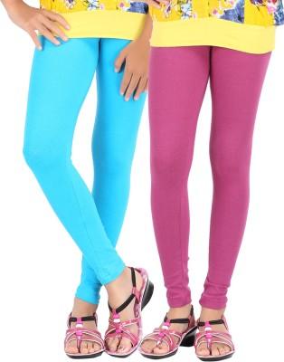 Be Style Girl's Purple, Blue Leggings