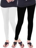 Umesh Fashion Women's White, Black Leggi...