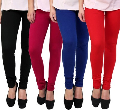 Carrol Women's Black, Pink, Blue, Red Leggings