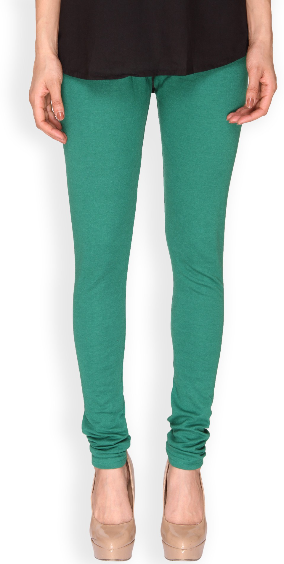 Ten on Ten Womens Green Leggings