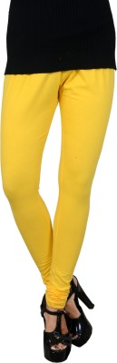 Jsa Women's Yellow Leggings