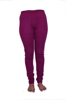 Lovanyaa Women's Purple Leggings