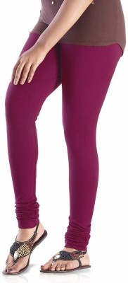 shreemangalammart Girl's Purple Leggings