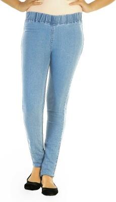 Ebony Women's Light Blue Jeggings