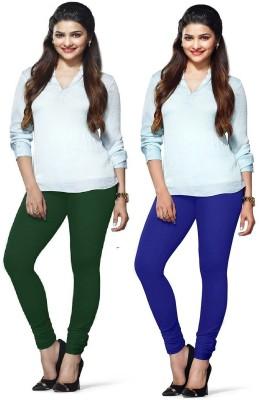 Amul Florio Women's Green, Blue Leggings