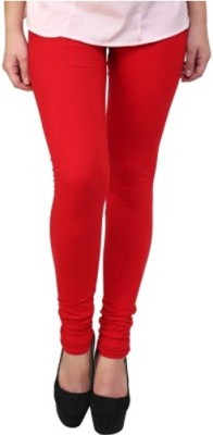 INKINC Women's Red Leggings