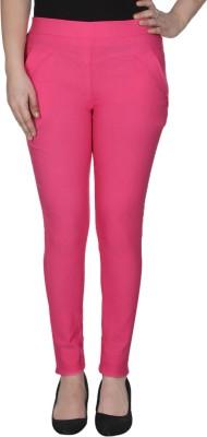 La-Paris Women's Pink Jeggings
