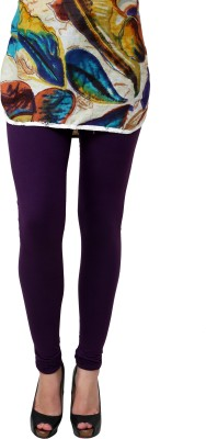 Anekaant Women's Purple Leggings