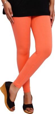 Fine Colors Women's Orange Leggings