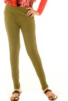Menthol Girl's Green Leggings