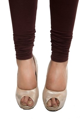Red Saffron Women's Maroon Leggings