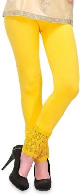 MDS Jeans Women's Yellow Leggings
