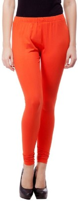 umesh fashion Women's Orange Leggings