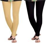 Zacharias Women's Beige, Black Leggings ...