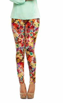 Femninora Women's Multicolor Jeggings