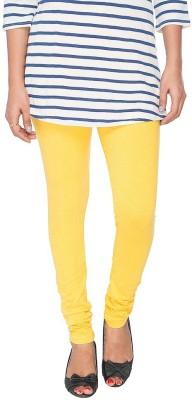 barkha fashion Women's Yellow Leggings