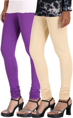 Greenwich Women,s Purple, Beige Leggings