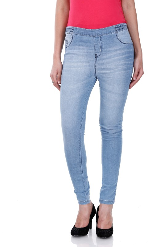 Addyvero Women's Blue Jeggings