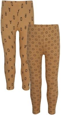Jazzup Girl's Beige Leggings