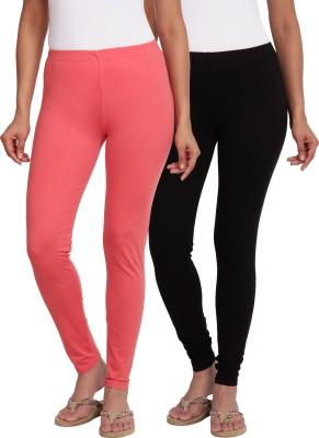 Slumber Jill Women's Black, Orange Leggings