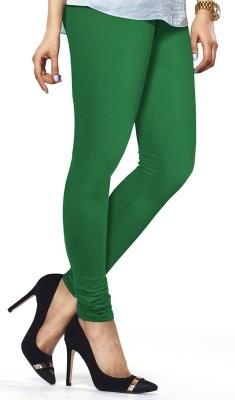ambey shree trendz Women,s Green Leggings