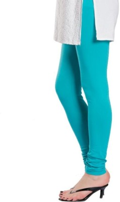 JRS Fashion Women,s Light Blue Leggings