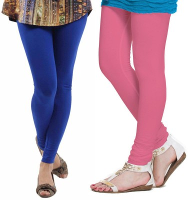 VP Vill Parko Women's Blue, Pink Leggings