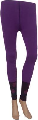 Stylefunia Women's Purple Leggings