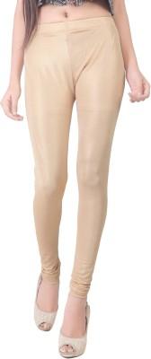Bottoms More Women's Beige Leggings