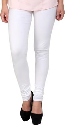 Charu Boutique Women's White Leggings