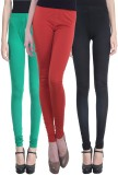 Vimal Women's Multicolor Leggings (Pack ...