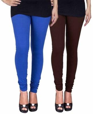 Ayesha Fashion Women's Blue, Brown Leggings
