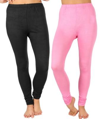 SLS Women's Black, Pink Leggings