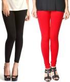Paranoid Women's Black, Red Leggings (Pa...
