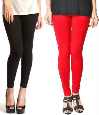 Paranoid Women's Black, Red Leggings